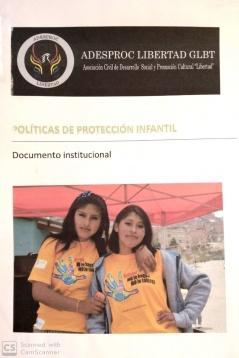 Políticas de Protección Infantil: Documento institucional